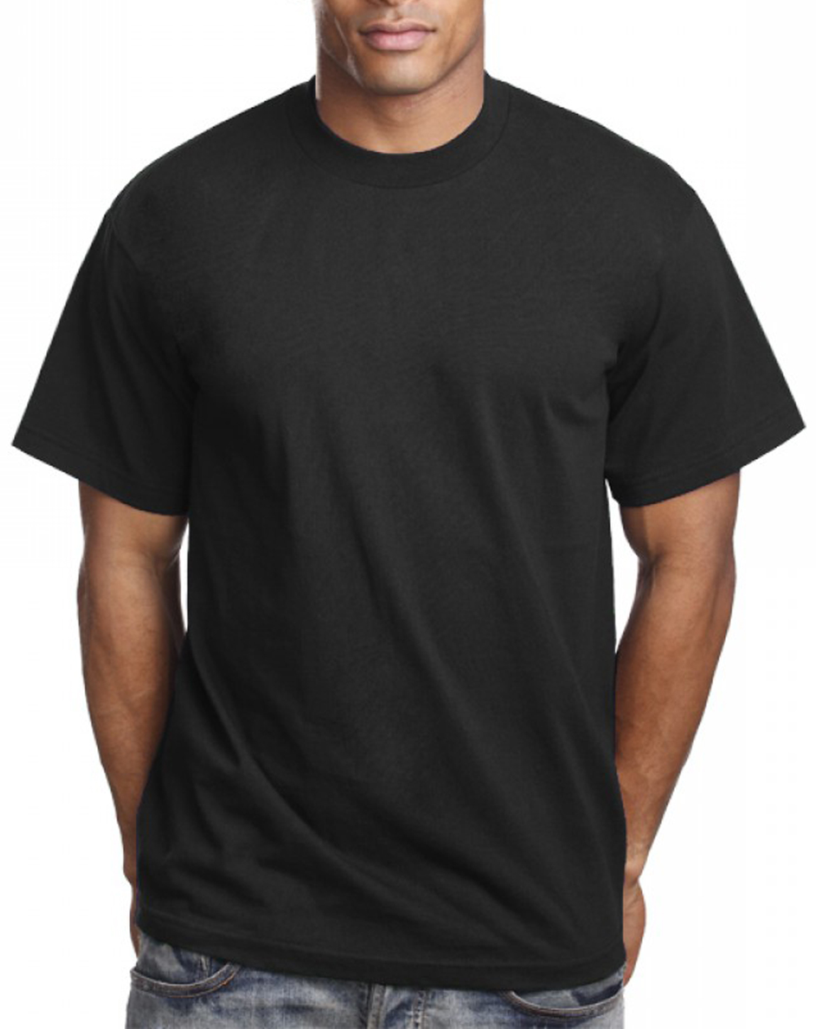 black t shirt model back - photo #6